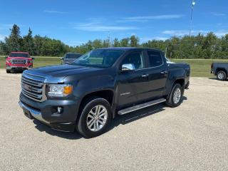 Used 2017 GMC Canyon 4WD SLT for sale in Roblin, MB