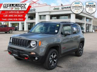 New 2020 Jeep Renegade Trailhawk for sale in Selkirk, MB