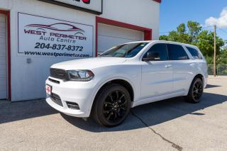 Used 2019 Dodge Durango GT AWD *S/ROOF*NAV*B/UP CAM*7 PASSENGER for sale in Winnipeg, MB
