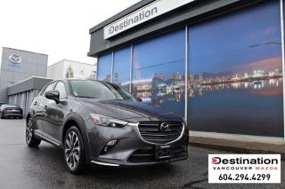 Used 2019 Mazda CX-3 GT - Fully Loaded, Sunroof, Leather, Nav, AWD! for sale in Vancouver, BC