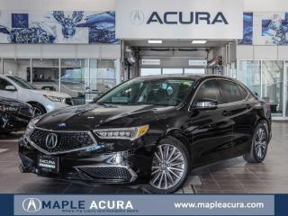 Used 2018 Acura TLX Tech, ALL WHEEL DRIVE, One owner, No accidents for sale in Maple, ON