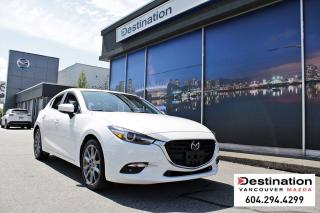 Used 2018 Mazda MAZDA3 Sport GT -All Weather Mats, Sunroof, Leather seats! for sale in Vancouver, BC