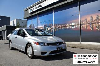 Used 2008 Honda Civic Cpe DX-G- Great Price on a vehicle you can't go wrong! for sale in Vancouver, BC