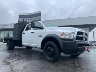 Used 2013 RAM 5500 Chassis SLT DIESEL DUALLY 4WD FLAT DECK WELDING SERVICE for sale in Langley, BC