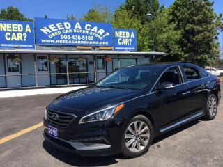 Used 2015 Hyundai Sonata SPORT for sale in Oshwa, ON