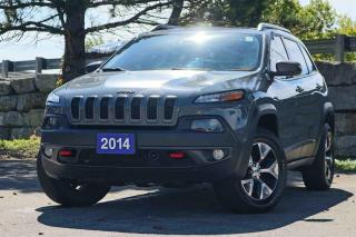 Used 2014 Jeep Cherokee 4WD 4dr Trailhawk | Pano | Navi | Leather ! for sale in Waterloo, ON
