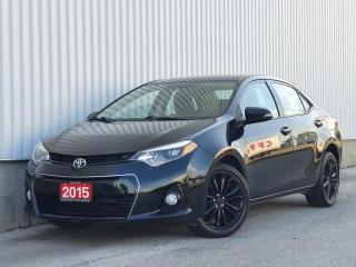 Used 2015 Toyota Corolla S Leather Trim| Back Up Cam| WE FINANCE for sale in Mississauga, ON