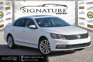 Used 2016 Volkswagen Passat 1.8 TSI Auto Highline. ONE OWNER. NO ACCIDENT. ALL OPTIONS for sale in Mississauga, ON