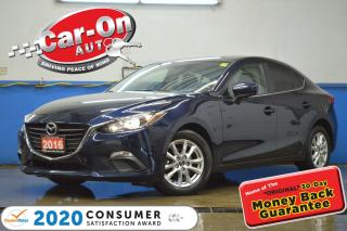 Used 2016 Mazda MAZDA3 GS SUNROOF REAR CAM HTD SEATS LOADED for sale in Ottawa, ON