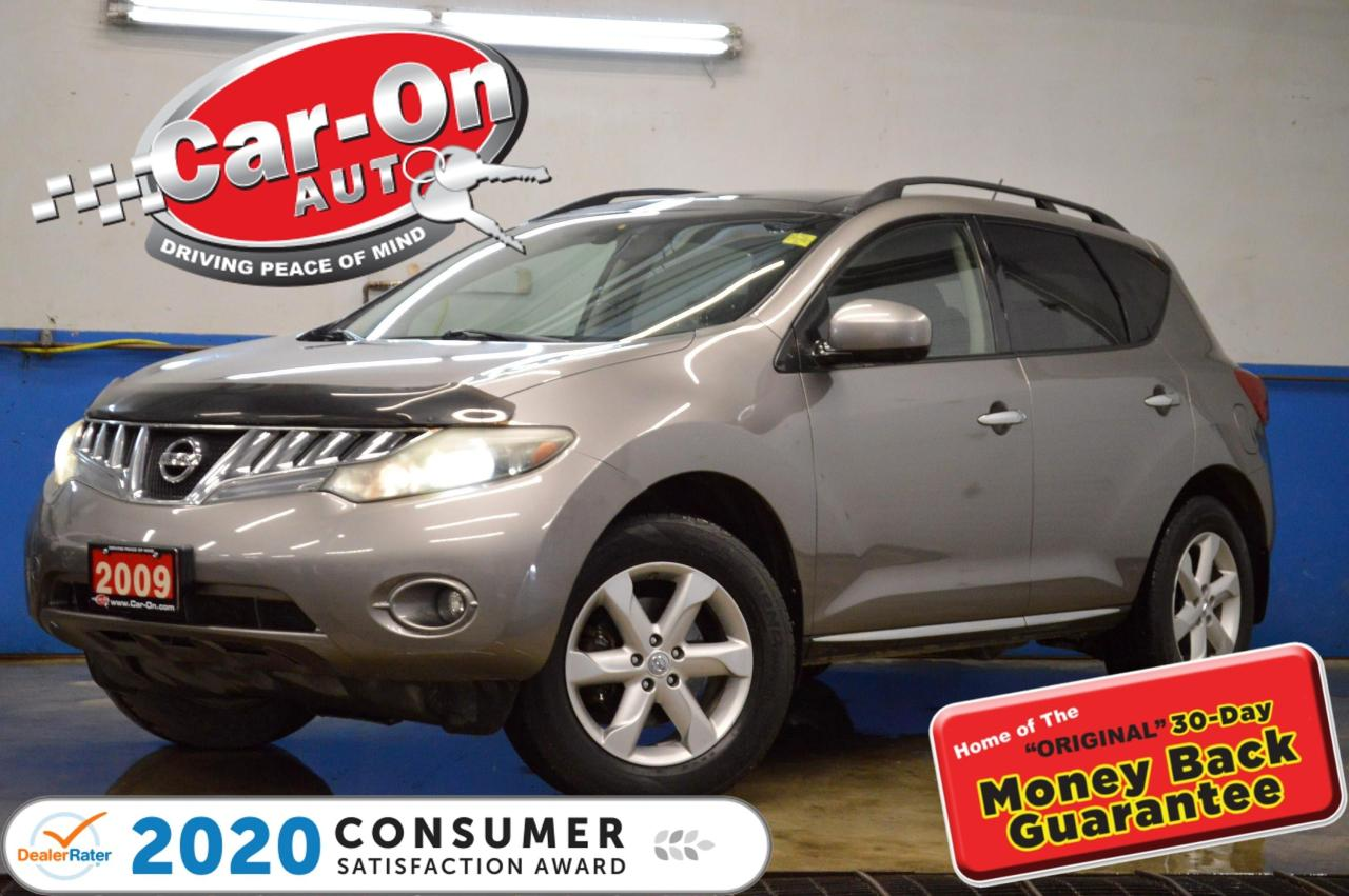 used 2009 nissan murano sl awd pano roof rear cam htd seats for sale in ottawa, ontario carpages.ca