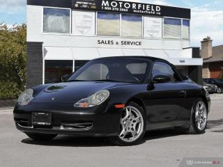Used 2001 Porsche 911 Carrera 4 Cabriolet *Accident Free, Ontario Vehicle, 73KM* for sale in Scarborough, ON