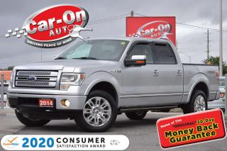 Used 2014 Ford F-150 Platinum 57,000 KM LEATHER NAV REAR CAM TOW PKG LO for sale in Ottawa, ON