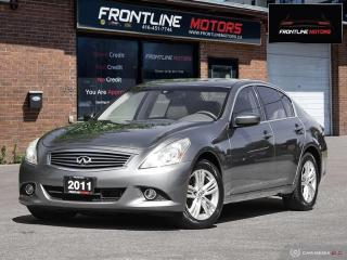 Used 2011 Infiniti G37 X 4dr x AWD for sale in Scarborough, ON