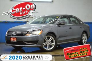 Used 2013 Volkswagen Passat 2.5L Comfortline LEATHER SUNROOF for sale in Ottawa, ON