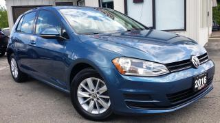 Used 2016 Volkswagen Golf TSI TREND 5M - BACK-UP CAM! ALLOYS! CAR PLAY! HEATED SEATS! for sale in Kitchener, ON