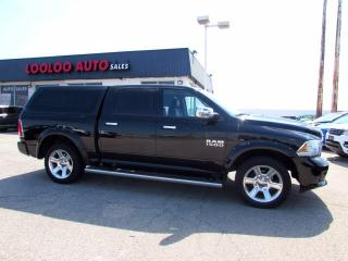 Used 2014 RAM 1500 Limited Longhorn Crew Cab 4WD Navi Camera DVD Certified for sale in Milton, ON