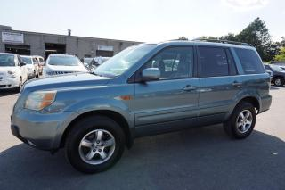 Used 2006 Honda Pilot EXL 4WD 8 PSSNGR CERTIFIED 2YR WARRANTY HEATED LEATHER SUNROOF ALLOYS for sale in Milton, ON