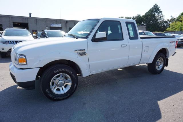 2011 Ford Ranger V6 SPORT SUPER CAB CERTIFIED 2YR WARRANTY *FREE ACCIDENT* ALLOYS BED COVER AUX FOG LIGHT