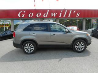 Used 2011 Kia Sorento EX! HEATED LEATHER SEATS! B/TOOTH! for sale in Aylmer, ON