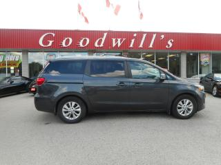 Used 2018 Kia Sedona LX+! CLEAN CARFAX! HEATED SEATS! CARPLAY! B/TOOTH! for sale in Aylmer, ON