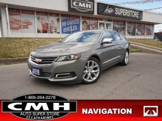 Used 2018 Chevrolet Impala Premier  NAV CAM PANO P/SEATS HS LEATH for sale in St. Catharines, ON