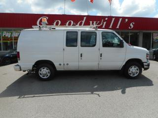 Used 2009 Ford Econoline CARGO! CLEAN CARFAX! PREVIOUS BELL FLEET VAN! for sale in Aylmer, ON