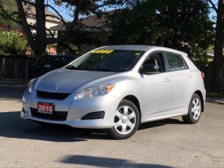 Used 2010 Toyota Matrix for sale in Stoney Creek, ON