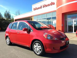 Used 2008 Honda Fit LX for sale in Courtenay, BC