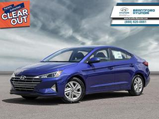 New 2020 Hyundai Elantra Preferred w/Sun & Safety Package IVT  - $139 B/W for sale in Brantford, ON