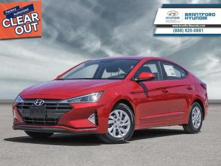 New 2020 Hyundai Elantra Essential IVT  - $125 B/W for sale in Brantford, ON
