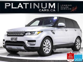 Used 2017 Land Rover Range Rover Sport HSE Td6, 7 PASS, DIESEL, NAV, PANO, CAM, HEATED for sale in Toronto, ON