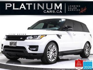 Used 2014 Land Rover Range Rover Sport Supercharged Dynamic, 510HP, V8, NAV, CAM, PANO for sale in Toronto, ON