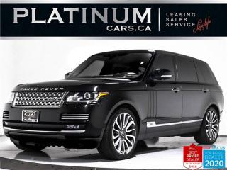 Used 2017 Land Rover Range Rover Autobiography LWB, 510HP, SUPERCHARGED, NAV, PANO for sale in Toronto, ON