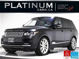 Used 2016 Land Rover Range Rover SUPERCHARGED 510HP, V8, NAV, MERIDIAN, CAM, PANO for sale in Toronto, ON
