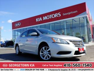 Used 2015 Nissan Sentra SV | NAVI | |ROOF | BU CAM | HEATED SEATS | ALLOYS for sale in Georgetown, ON