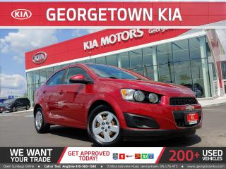 Used 2015 Chevrolet Sonic LT | 98K KMS | AUTO | BU CAM | HTD SEATS| A/C| B/T for sale in Georgetown, ON