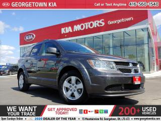 Used 2015 Dodge Journey SE PLUS | A/C | REAR ENTERTAINMENT | 7 PASS | B/T for sale in Georgetown, ON