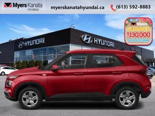 New 2020 Hyundai Venue Preferred  - $149 B/W for sale in Kanata, ON