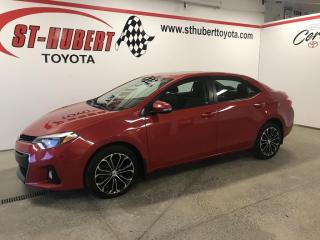 Used 2016 Toyota Corolla 4dr Sdn Man S for sale in St-Hubert, QC