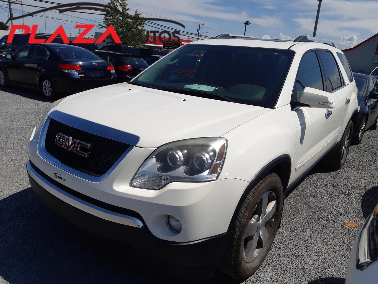 used 2010 gmc acadia awd 4dr slt1 for sale in beauport, quebec carpages.ca