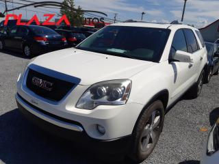 Used 2010 GMC Acadia AWD 4dr SLT1 for sale in Beauport, QC