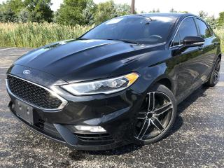 Used 2018 Ford Fusion SPORT AWD for sale in Cayuga, ON