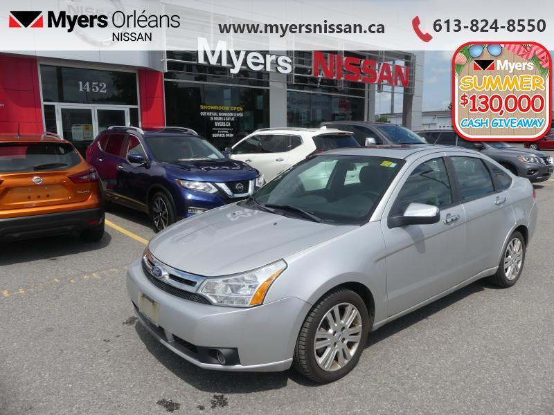 used 2010 ford focus sel - leather seats - bluetooth - 73 b w for sale in orleans, ontario carpages.ca