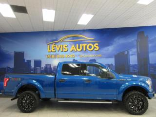 Used 2015 Ford F-150 SUPERCREW CUIR V-8 5.0 LITRES BEAU LOOK for sale in Lévis, QC
