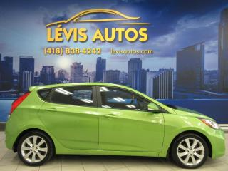 Used 2012 Hyundai Accent GLS AUTOMATIQUE TOIT OUVRANT SIEGE CHAUF for sale in Lévis, QC