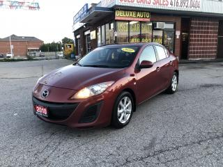 Used 2010 Mazda MAZDA3 4dr Sdn Auto GX for sale in Etobicoke, ON