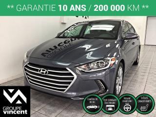 Used 2017 Hyundai Elantra GLS ** GARANTIE 10 ANS ** Voiture compacte au design et à l'ingénierie d?une exceptionnelle qualité à tout point de vue! for sale in Shawinigan, QC