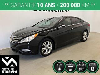 Used 2012 Hyundai Sonata LIMITED CUIR TOIT PANO ** GARANTIE 10 ANS ** Elle attirera les regards. Préparez-vous à faire bonne impression! for sale in Shawinigan, QC