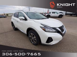 New 2020 Nissan Murano SV for sale in Swift Current, SK