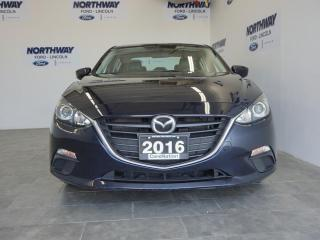 Used 2016 Mazda MAZDA3 GS | LEATHER | TOUCHSCREEN | REAR CAM | ONLY 46KM! for sale in Brantford, ON